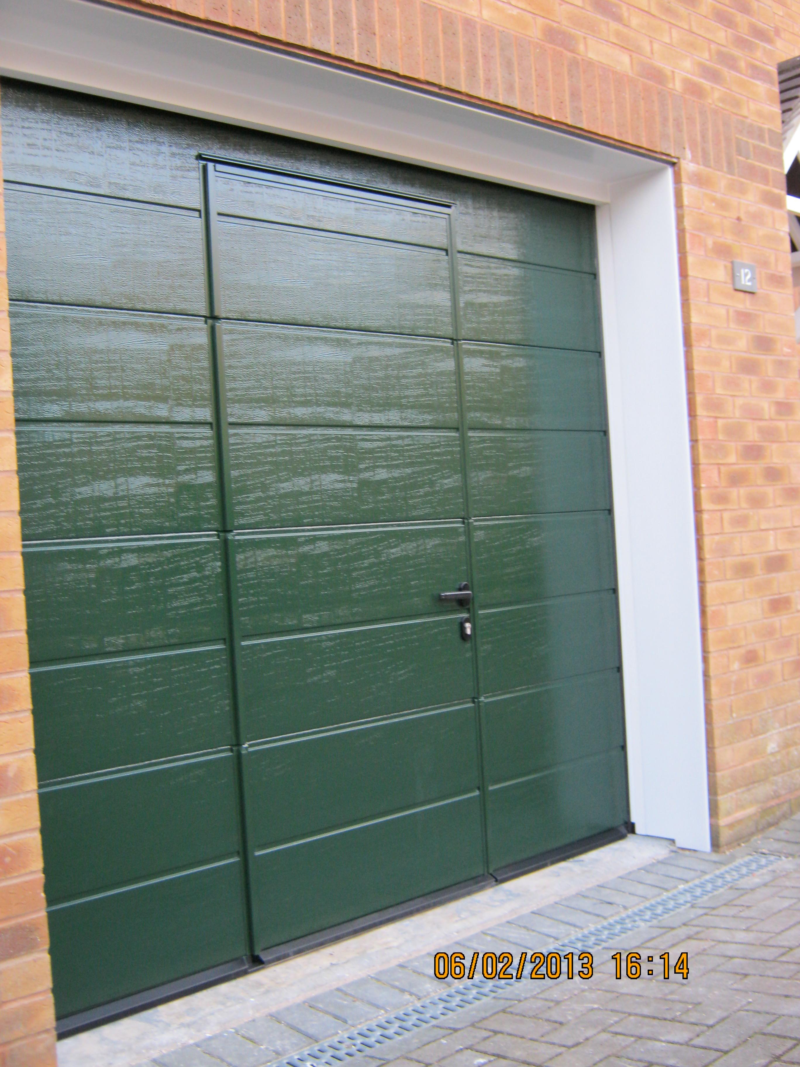 Sectional Door With Wicket Door Archives Dorset Garage Doors