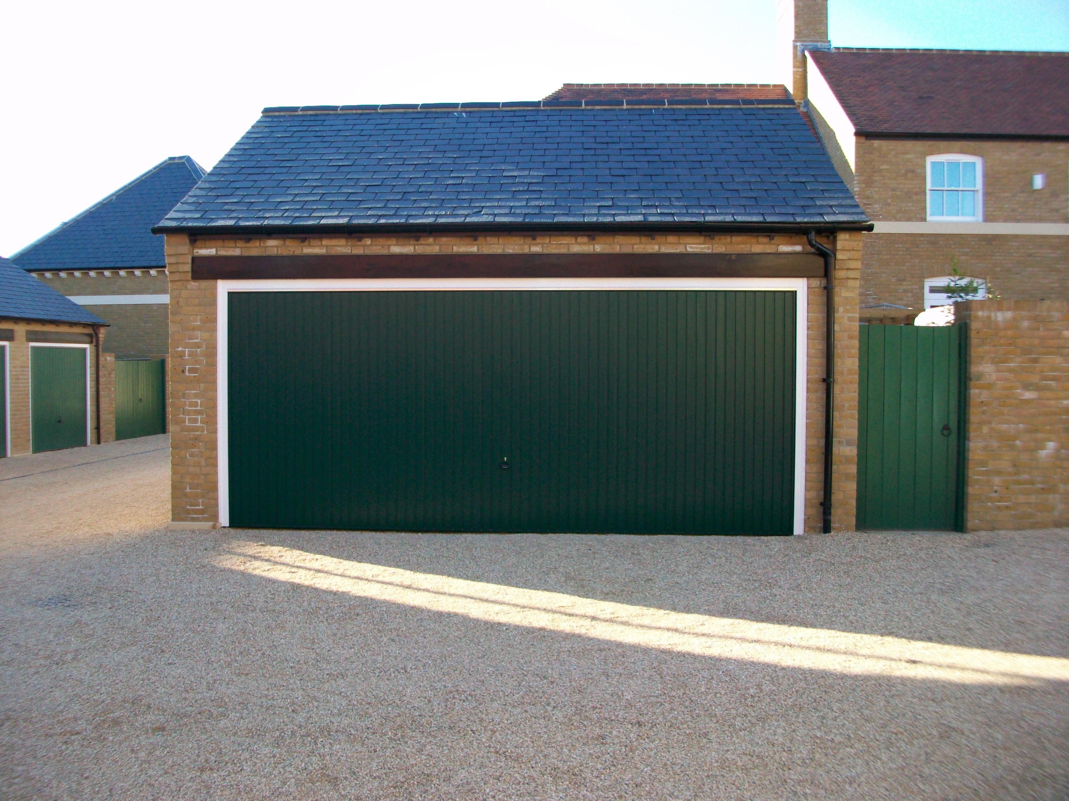 Carlton Double Door In Green Archives Dorset Garage Doors