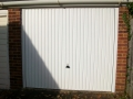 Carlton door in powder coat white
