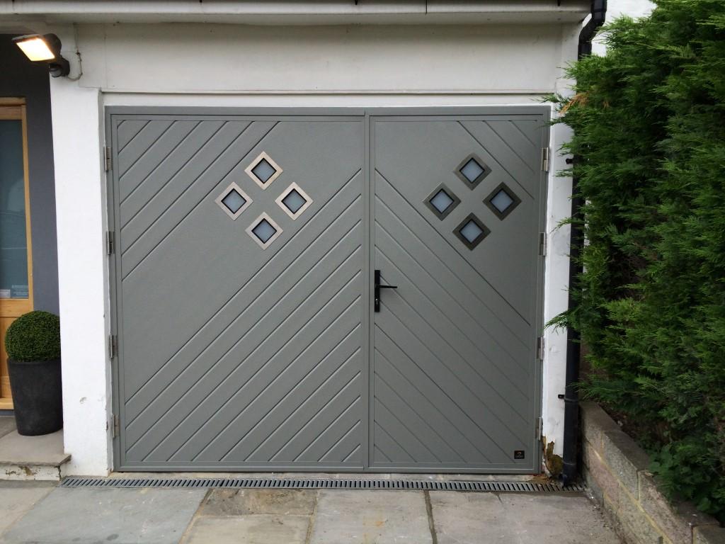 Side Hinged Ryterna Garage Doors Dorset Garage Doors