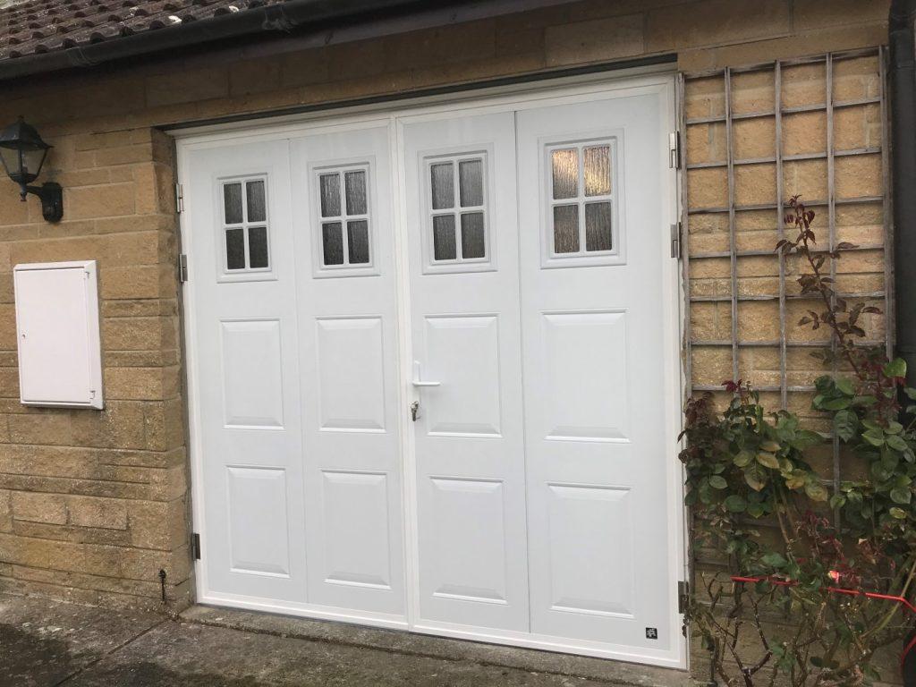 Insulated Side Hinged Garage Door Dorset Garage Doors