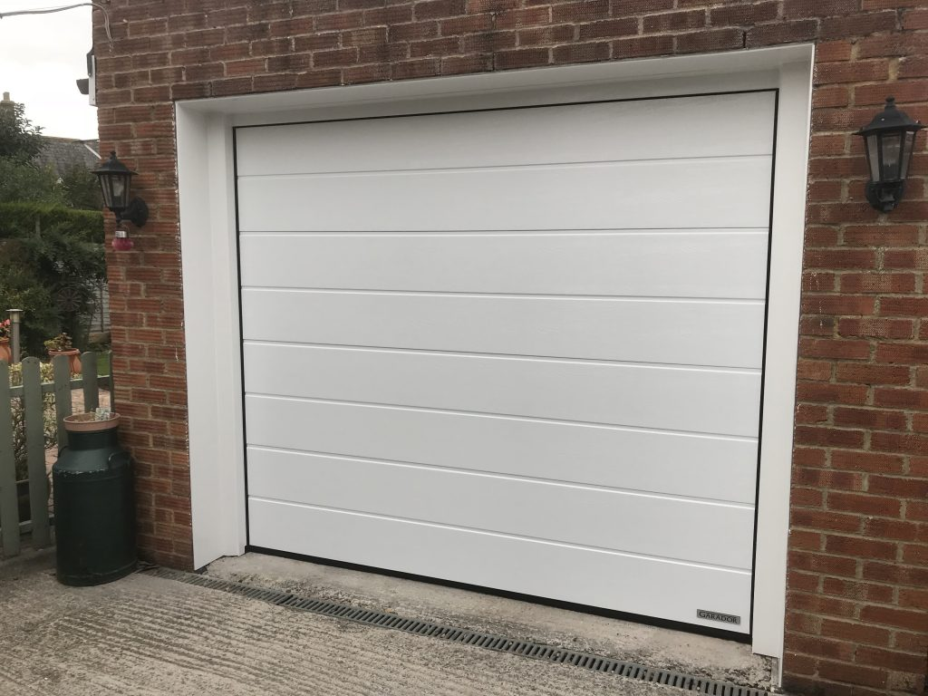 Premium Automated Sectional Insulated Garage Door