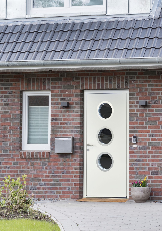 Portholes In Front Entrance Doors Dorset Garage Doors