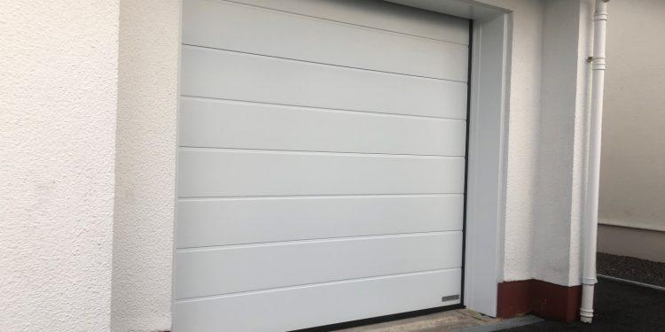 Insulated And Automated Garage Door Dorset Garage Doors