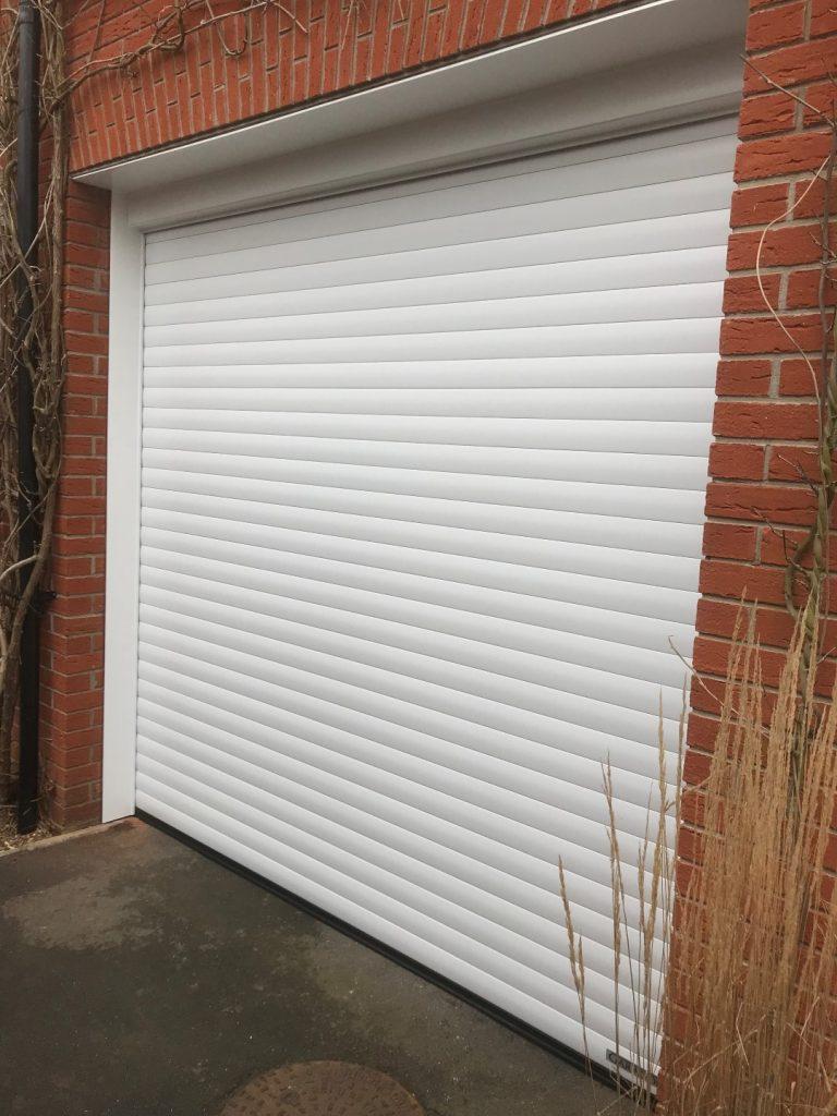 Garage Door With Upvc Cladding Dorset Garage Doors
