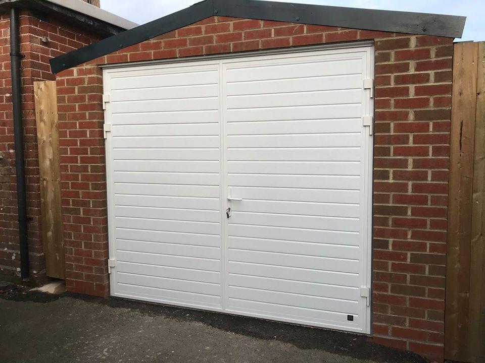 Garage Door In Sherborne Dorset Dorset Garage Doors